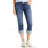 Women's Levi's® Classic Cuffed Capri Jeans