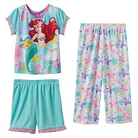Disney's The Little Mermaid Ariel & Flounder 3-pc. Pajama Set