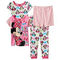 Disney's Minnie Mouse Toddler Girl 4-pc. Tee, Shorts & Pants Set