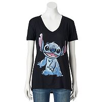 Disney's Lilo & Stitch Juniors' Ears Up Graphic Tee