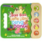 """Baa Baa Llama Llama Ding Dong"" Farm Songs Book"