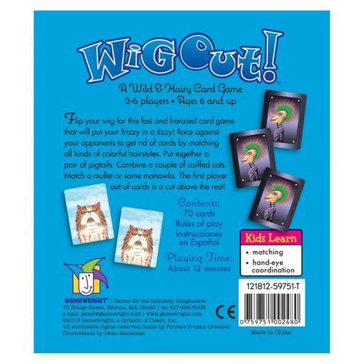 Wig Out Card Game by Gamewright