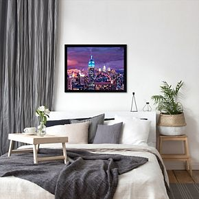 Americanflat ''New York City Empire State Building'' Framed Wall Art