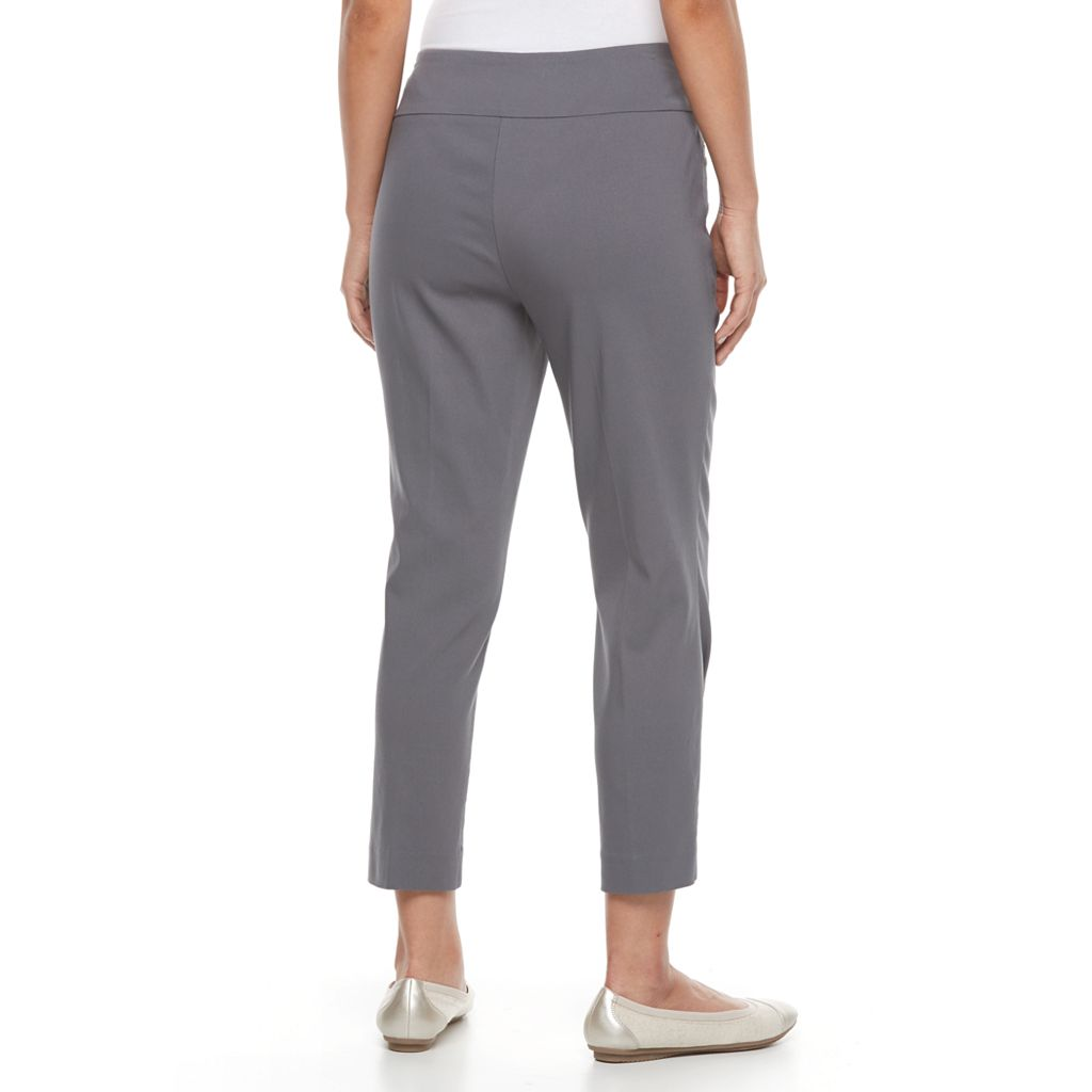 Petite Napa Valley Modern Fit Pull-On Ankle Pants