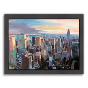 Americanflat ''NYC Sunlight 2'' Framed Wall Art