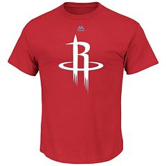 Men's Majestic Houston Rockets Logo II Tee
