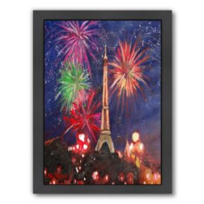 Americanflat ''Paris Silvester'' Framed Wall Art