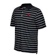 Men's adidas Indiana Hoosiers Textured Golf Polo