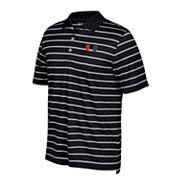 Men's adidas Miami Hurricanes Textured Golf Polo