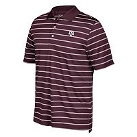Men's adidas Texas A&M Aggies Striped Golf Polo