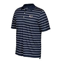 Men's adidas Kansas Jayhawks Textured Golf Polo