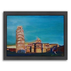 Americanflat ''Pisa'' Framed Wall Art