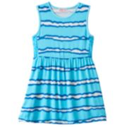Girls 4-6x Design 365 Tie-Dye Striped Dress