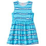 Girls 4-6x Design 365 Tie-Dye Striped Dress