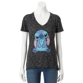 Disney's Lilo & Stitch Juniors' Ears Down Graphic Tee