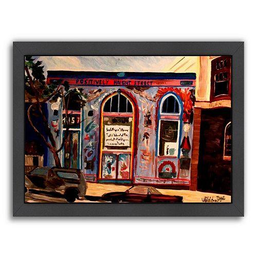 Americanflat ''Positively Haight'' Framed Wall Art