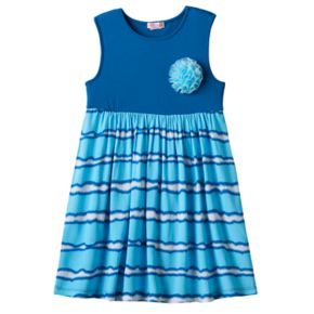 Girls 4-6x Design 365 Tie-Dye Sleeveless Dress