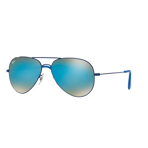 Ray-Ban Youngster RB3558 58mm Aviator Gradient Flash Sunglasses