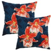 Plantation Patterns 2-pack Outdoor Patterned Pillow