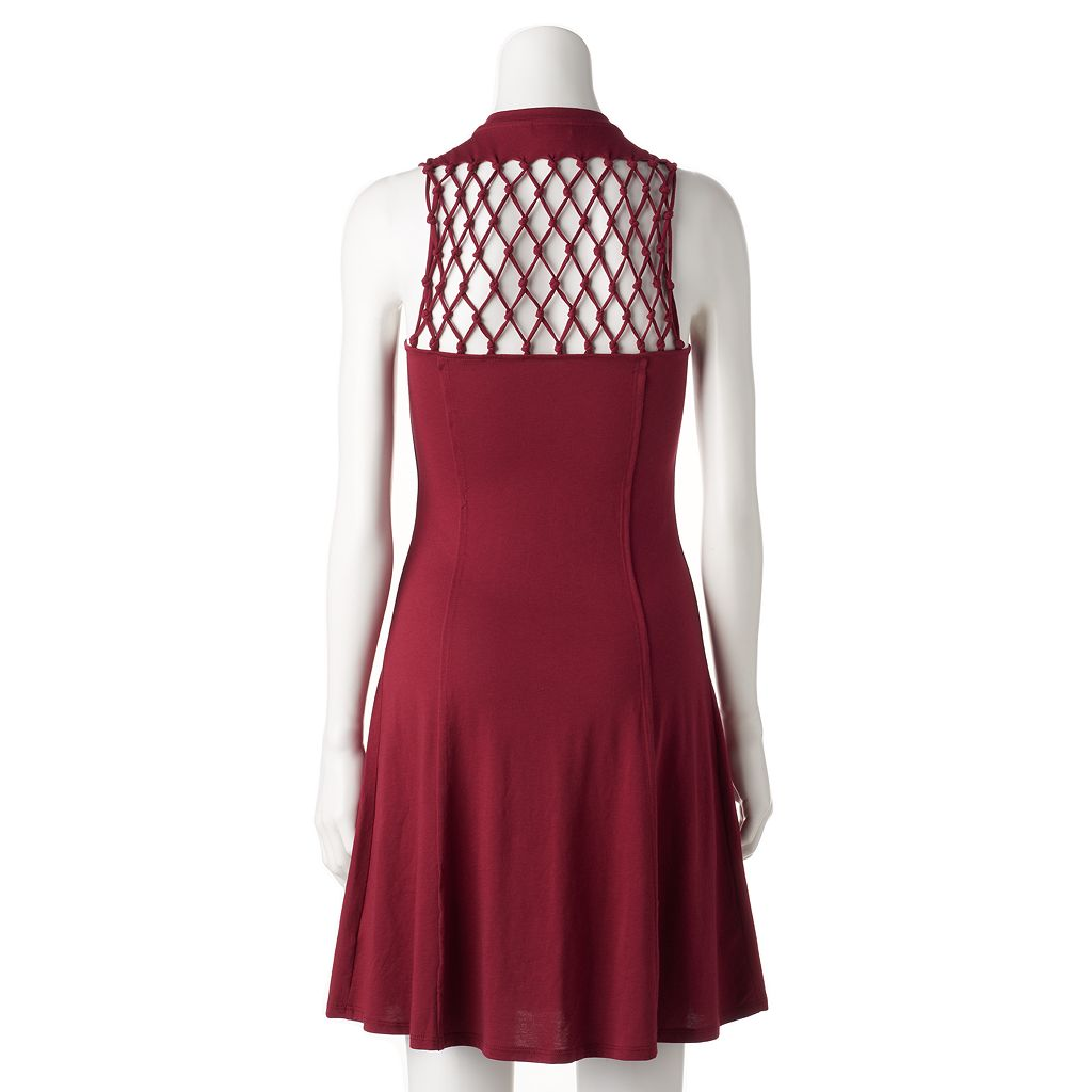 Women's Rock & Republic® Macrame A-Line Dress
