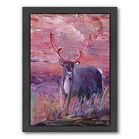 Americanflat ''Reindeer'' Framed Wall Art