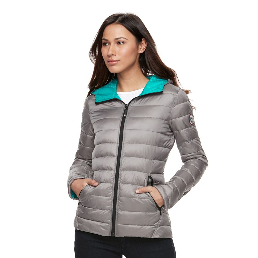 Women's Halitech Hooded Packable Puffer Jacket