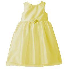Girls 4-6x Marmellatta Classics Shantung Rosette Ballerina Dress