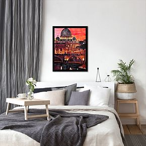 Americanflat ''Rome 1'' Framed Wall Art