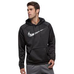 Men's Nike Marble Swoosh Therma Hoodie