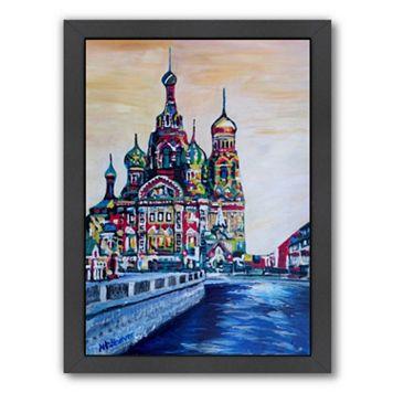 Americanflat ''Saint Petersburg'' Framed Wall Art