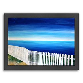 Americanflat ''San Francisco Point Reyes'' Framed Wall Art