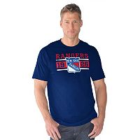 Men's New York Rangers Overtime Tee