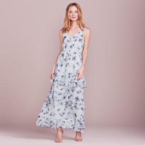 LC Lauren Conrad Dress Up Shop Collection Ruffle Maxi Dress - Women's