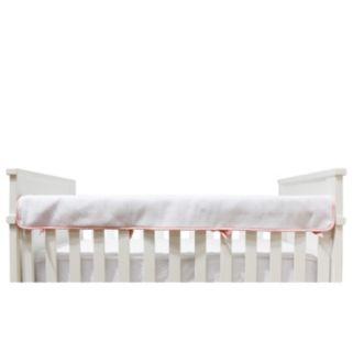 Living Textiles Diamond Matelasse Crib Railing Cover