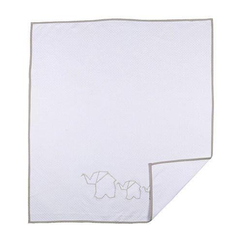 Living Textiles Diamond Matelasse Coverlet