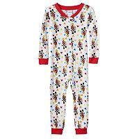 Disney's Mickey Mouse Toddler Boy One-Piece Pajamas