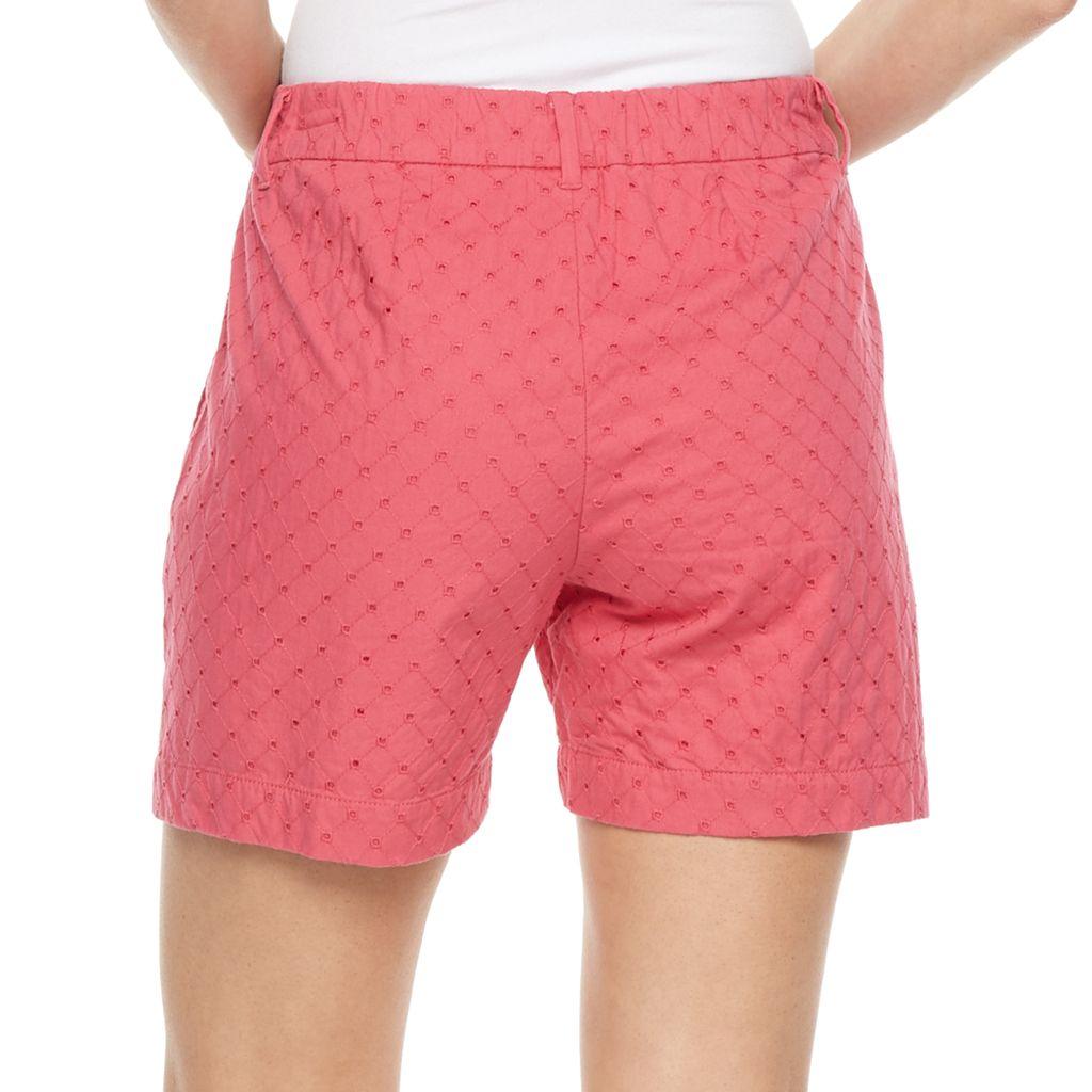 Women's Croft & Barrow® Novelty Shorts
