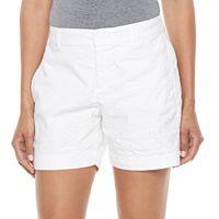 Women's Croft & Barrow® Novelty Shorts