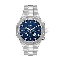 Bulova Men's Diamond Stainless Steel Chronograph Watch - 96D138