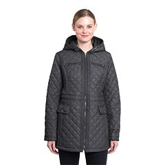 Women's Braetan Hooded Quilted Zip-Front Jacket