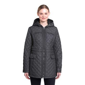 Women's Braetan Hooded Quilted Zip-Front Jacket
