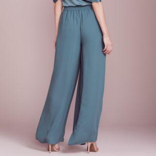 LC Lauren Conrad Dress Up Shop Collection Pleated Palazzo Pants - Women's
