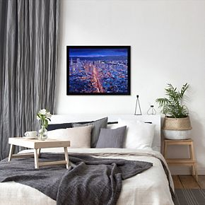 Americanflat ''San Francisco Market Street'' Framed Wall Art