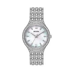 Bulova Women's Crystal Stainless Steel Watch - 96L242