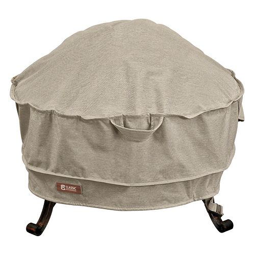 Montlake Large Round Fire Pit Cover