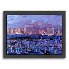 Americanflat ''San Diego'' Framed Wall Art