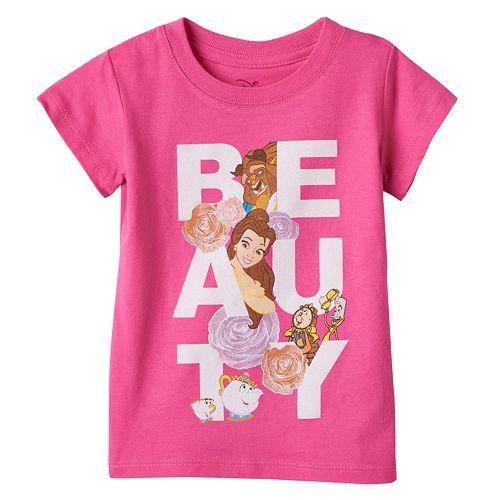 Disney's Beauty & The Beast Belle, Beast & Lumiere Girls 4-6x