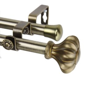 Rod Desyne Flair Adjustable Double Curtain Rod