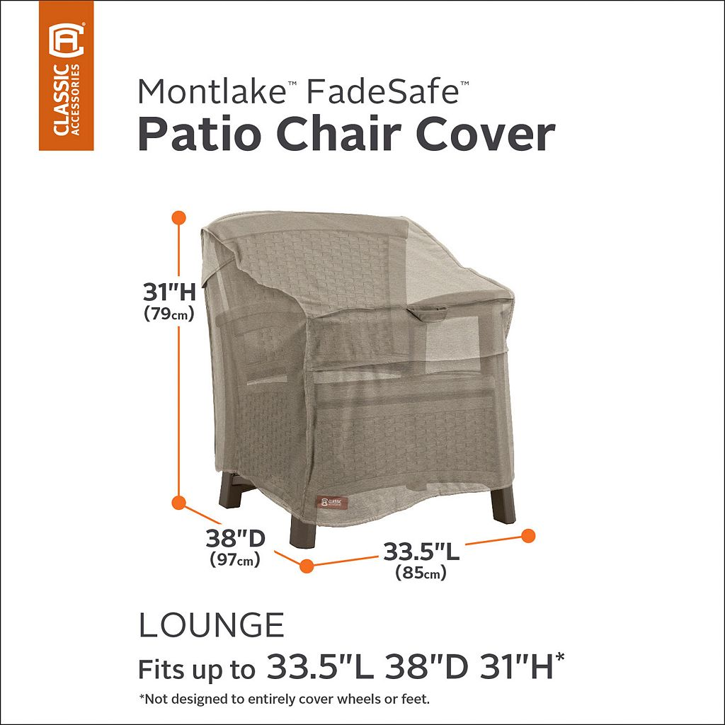 Montlake Patio Lounge Chair Cover