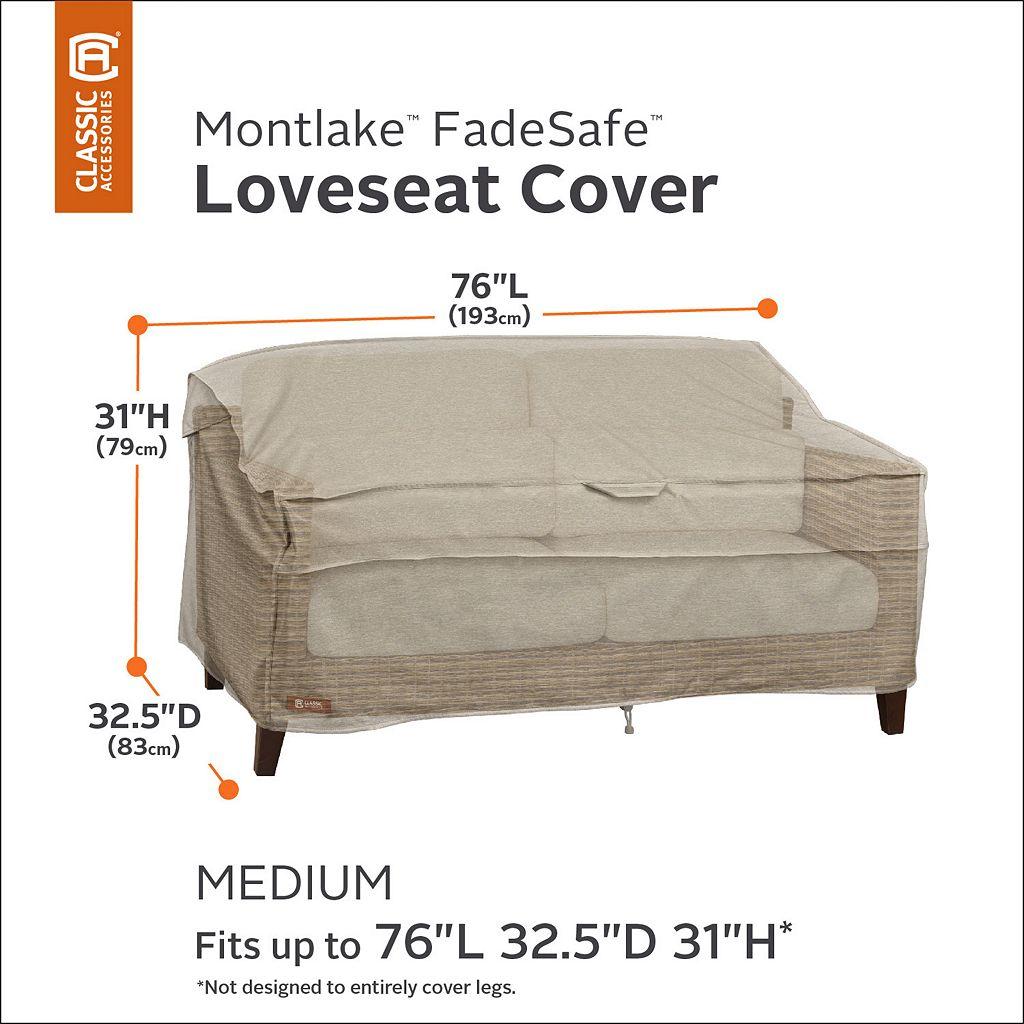Montlake Medium Patio Loveseat Cover